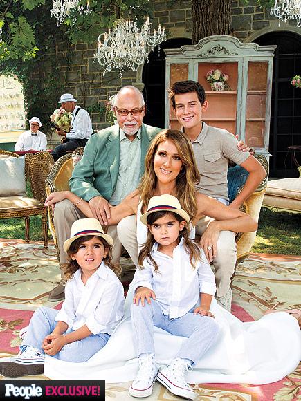 Gia đình Celine Dion.