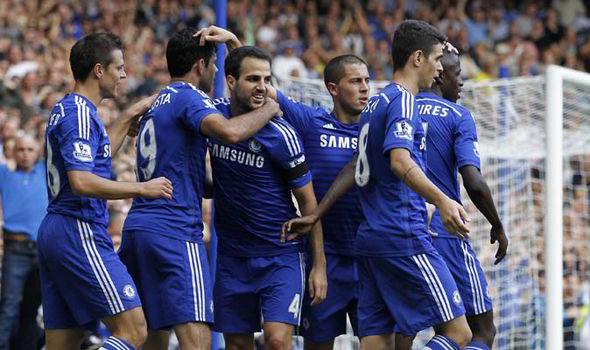 Chelsea đang có khoảng cách 2 điểm với đội xếp thứ 2 Man City