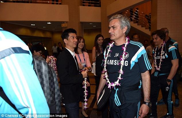 Sau Trung Đông, điểm dừng chân của Chelsea là Thái Lan.