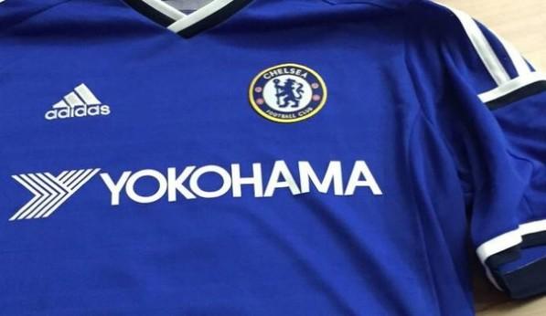 Logo của Yokohama Rubber sẽ xuất hiện trên áo đấu của Chelsea từ mùa giải 2015/2016