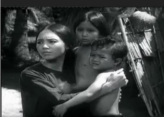 NSƯT Ngọc Thu vào vai chị Út Tịch trong phim Mẹ vắng nhà.