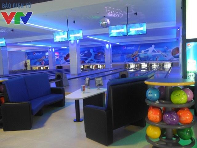 Không gian tại Dream Bowling