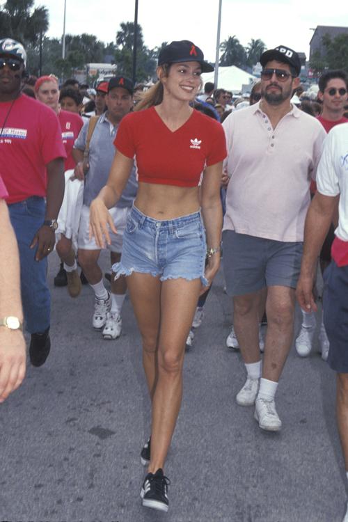 Ở thời điểm đó, cô được coi là biểu tượng cho phong cách retro ở Mỹ, với đồ denim trẻ trung.