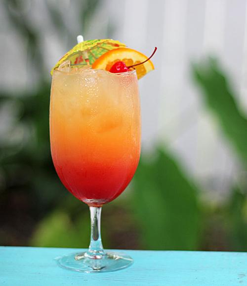 Cocktail Malibu Rose