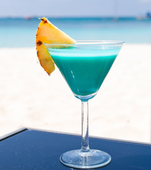 Cocktail Blue Bayou