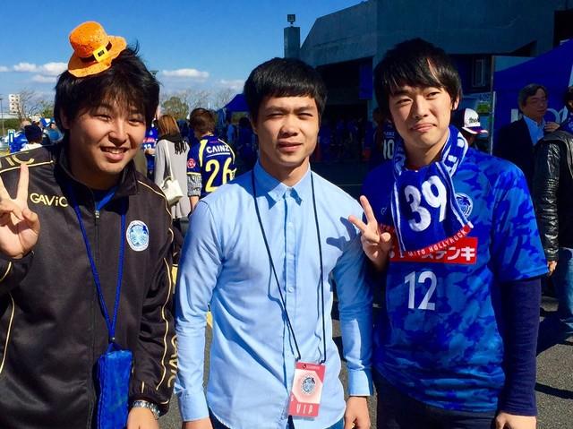 Nếu như mục đích chuyến đi sang Nhật của Công Phượng là tham quan CLB Mito Hollyhock và đàm phán hợp đồng thì Tuấn Anh sẽ tới Yokohama FC để thử việc (Ảnh: Fanpage J.League)