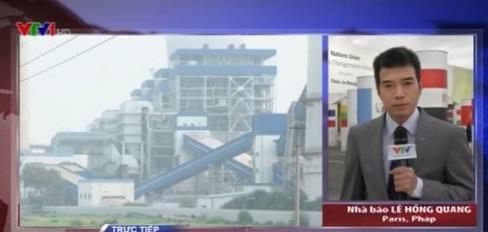 Phóng viên Lê Hồng Quang đề cập về diễn biến Hội nghị COP 21 ở Paris trong chương trình Vấn đề hôm nay.