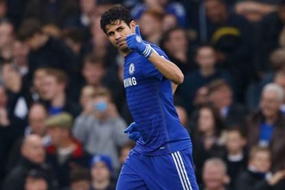 Diego Costa tiếp tục khai hỏa đều đặn.