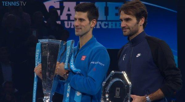 Djokovic đã không để Federer lặp lại kết quả ở vòng bảng