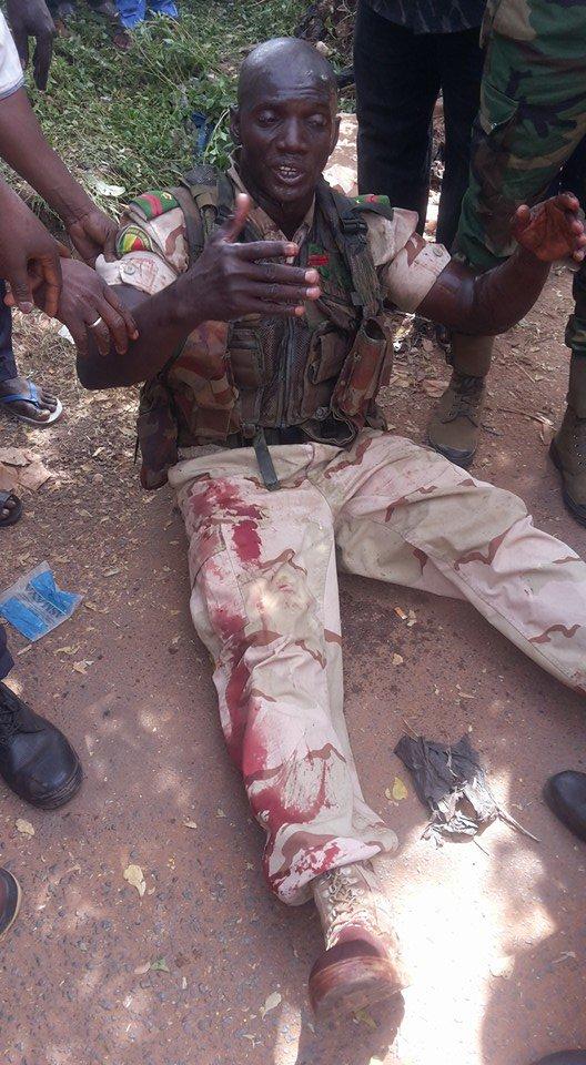 Một nhân viên cảnh sát tại Mali đã bị thương