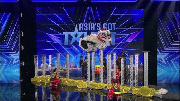 Nhóm múa lân KST Lion Dance Troupe (Singapore) nhận được 4 sự đồng ý từ BGK