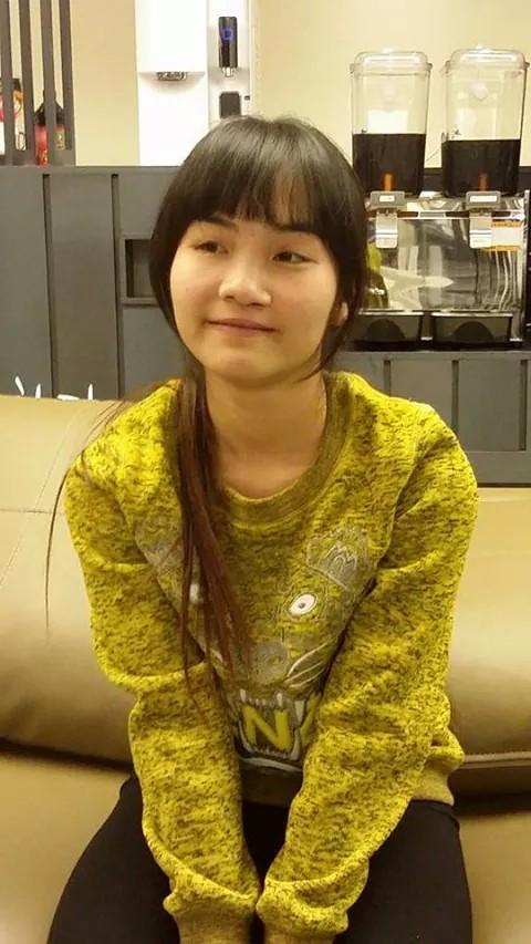 Đặng Thu Hà trước khi tham gia chương trình.