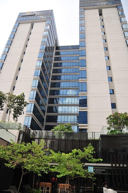 Khách sạn Days Hotel - nơi ĐT U23 Việt Nam cùng 10 đội bóng khác chọn làm nơi ăn nghỉ.