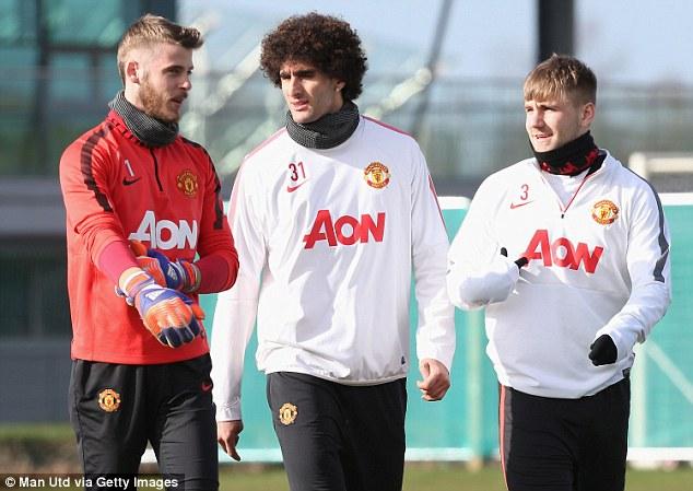 De Gea (trái) sẽ phải trổ hết tài nghệ trước những cầu thủ nhanh nhẹn và sắc sảo bên phía Arsenal.