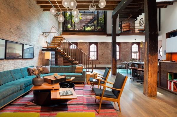Căn hộ tọa lạc tại khu Manhattan sầm uất - trung tâm của thành phố New York, Mỹ