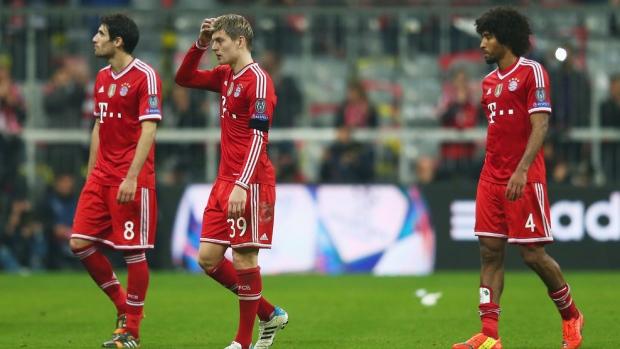 Cánh cửa vào chung kết Champions League gần như đã khép lại với Bayern Munich