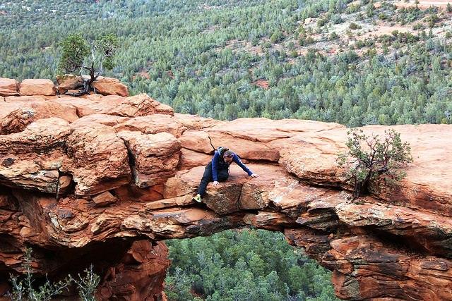 Cây cầu của quỷ, Arizona, Mỹ