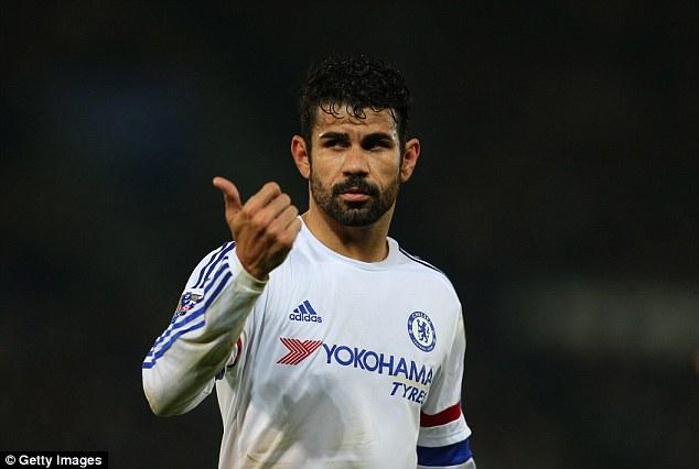 Diego Costa không còn giữ được phong độ ghi bàn cao như mùa trước.