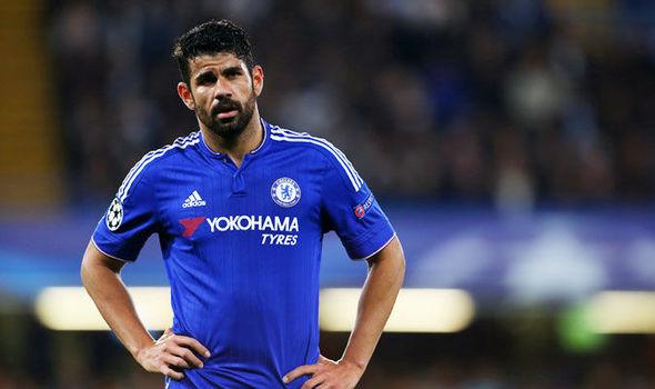 Diego Costa đã mất điểm trầm trọng trong con mắt của Jose Mourinho