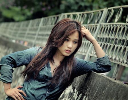 Diễm Hằng trong vai Ngân, một cô gái cá tính và thẳng thắn