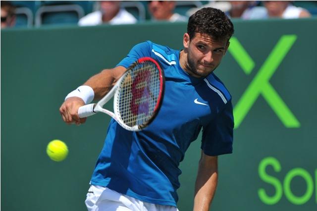"""""""Tiểu Federer"""" đã bị loại ngay tại vòng 3 Miami Open 2015"""