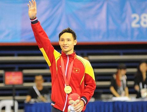 Đinh Phương Thành đã có một kỳ SEA Games thành công rực rỡ tại Singapore vừa qua