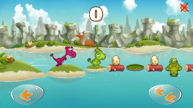 Trò chơi Khủng long tinh nghịch - Dino Rush
