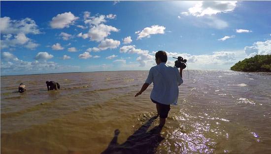 Tác phẩm Đồng hành cùng ngư dân bám biển - Đài PTTH Cà Mau