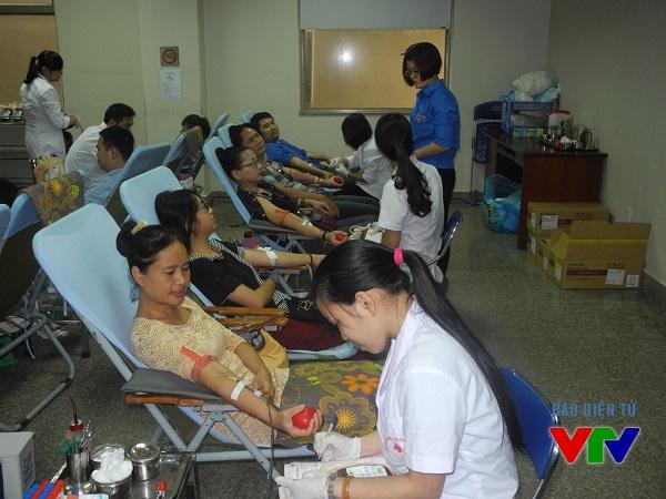 Phong trào hiến máu nhân đạo phát triển mạnh mẽ mang lại nhiều hiệu quả tích cực