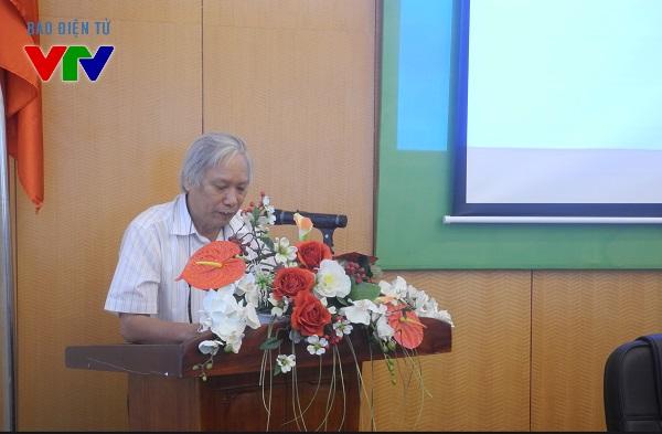PGS.TS Nguyễn Văn Huy - Nguyên Giám đốc Bảo tàng Dân tộc tham dự hội thảo, đưa ra nhiều kinh nghiệm về công tác quản lý và hoạt động bảo tàng