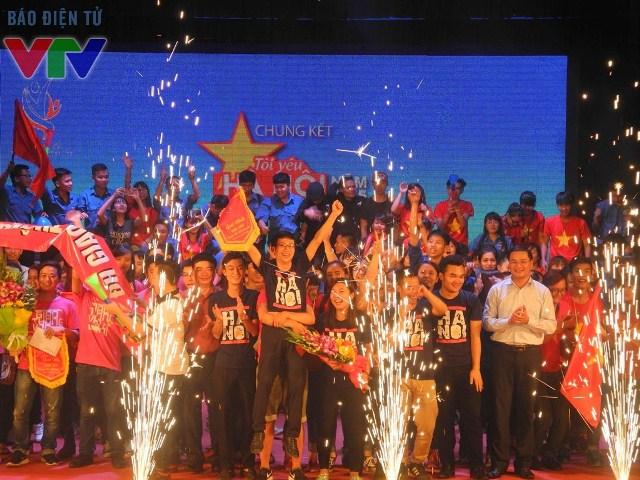 Kết thúc cuộc thi, đội Đại học Kinh doanh và Công nghệ đã giành giải nhất.