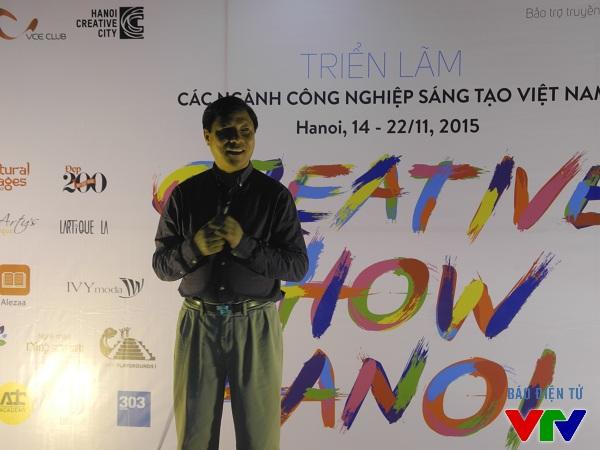 Thứ trưởng Bộ Kế hoạch và Đầu tư, ông Đặng Huy Đông tham dự lễ khai mạc