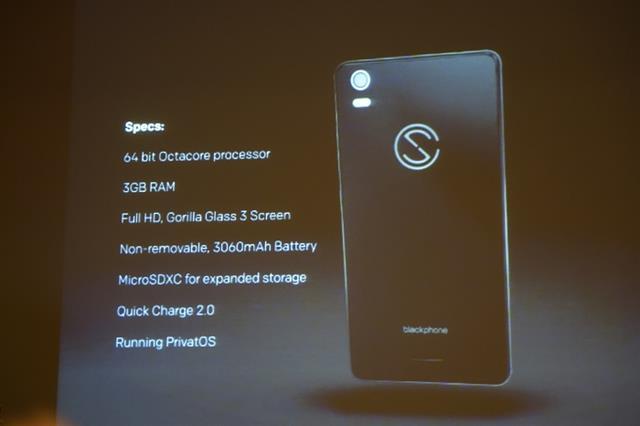 Cấu hình của Blackphone 2