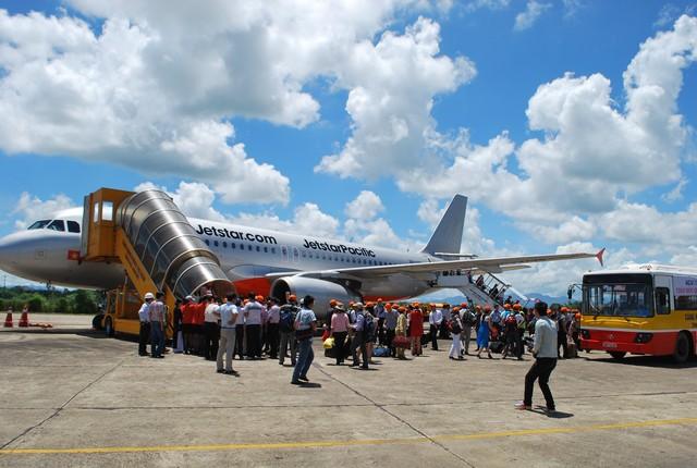 Jetstar tung 10.000 vé máy bay giá 20 nghìn đồng trên 22 chặng bay. (Ảnh: Dân trí)