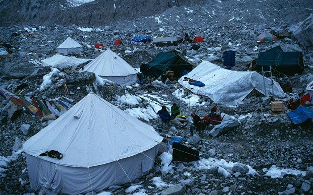 Đám đông ở trại I