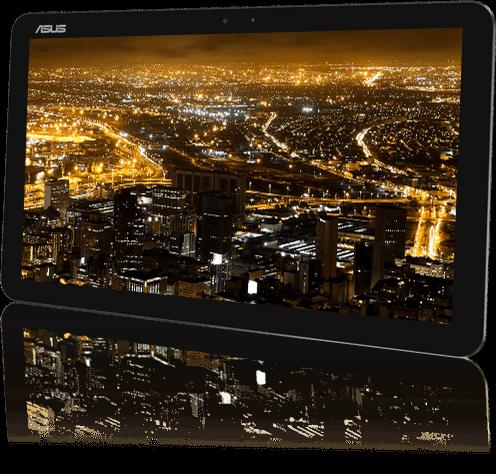 Màn hình 12.5 inch IPS Full HD của  Transformer Book Chi T300