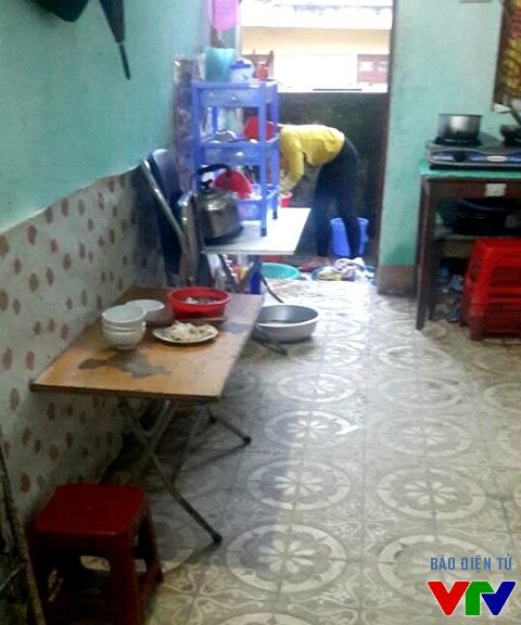 Nơi sinh hoạt hàng ngày của các cô giáo thường tạm bợ và đơn giản nhất có thể