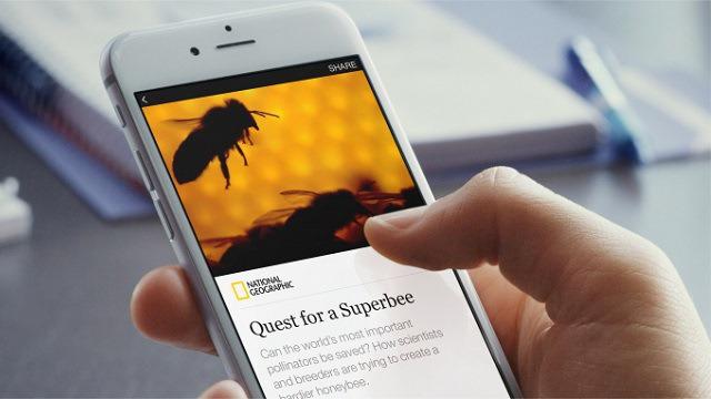 Tính năng Instant Article trên Facebook