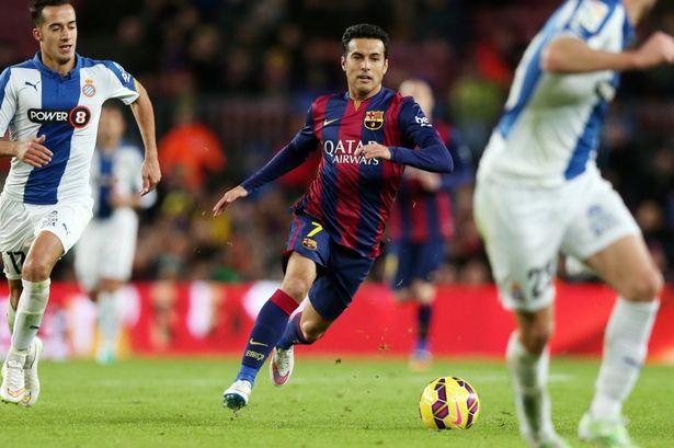 Pedro Rodriguez, tân bính thứ 5 của Man Utd?