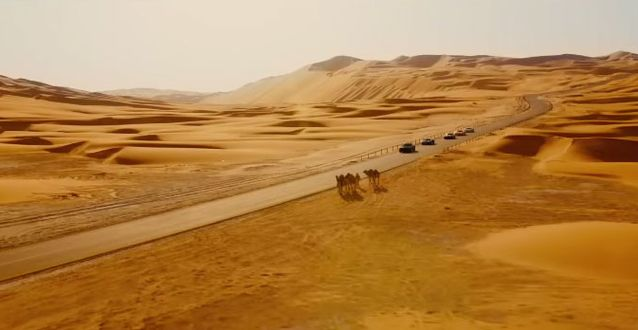 Đại cảnh sa mạc ở UAE