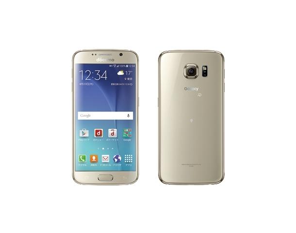 Logo Samsung trên Galaxy S6 đã được thay bằng logo của nhà mạng Docomo