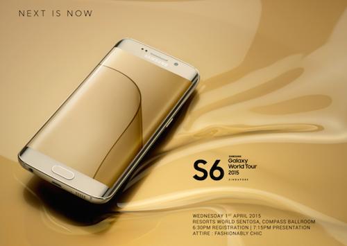 Thông tin về kế hoạch ra mắt bộ đôi Galaxy S6 và Galaxy S6 Edge của Samsung tại Đông Nam Á