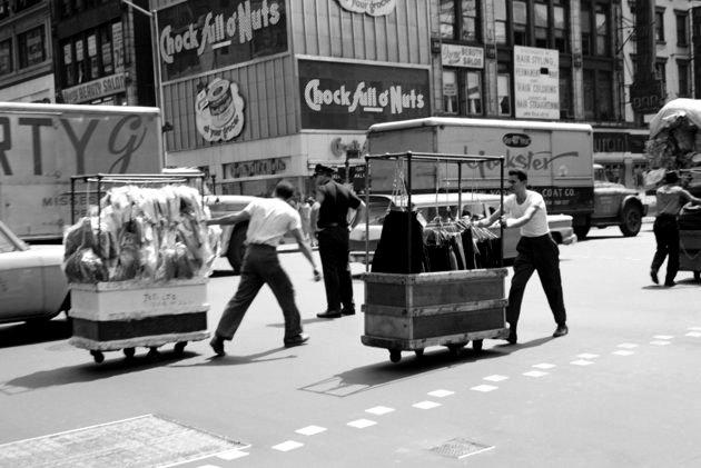 Quận Garment năm 1950.