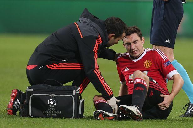 Chấn thương vẫn là nỗi ám ảnh của các cầu thủ Man Utd