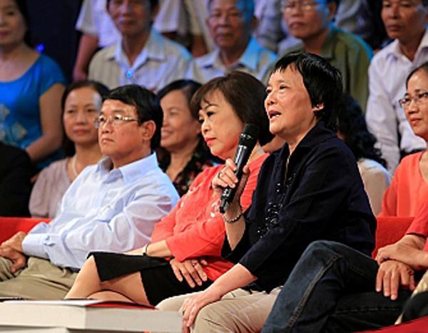 TS khoa học Đoàn Hương chia sẻ trong chương trình.