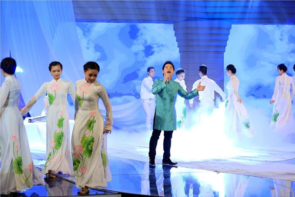 Tiết mục của Trọng Tấn đang tạm dẫn đầu sau Giai điệu tự hào số đầu của năm nay.