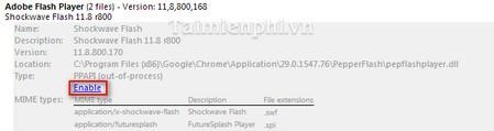 Kích hoạt cài đặt Adobe Flash Player trên trình duyệt Google Chrome