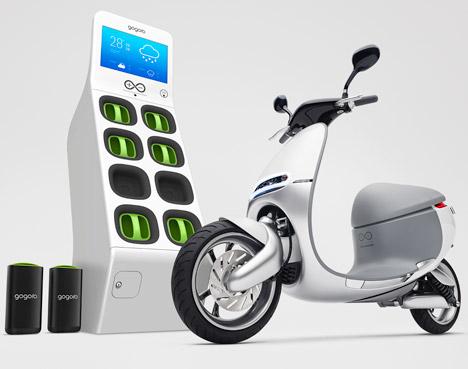 Trạm thay pin GoStation giúp người dùng nhanh chóng thay thế pin để tiếp tục cuộc hành trình trên chiếc Smartscooter
