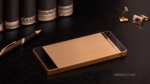 Gresso Regal Gold sở hữu màu vàng sang trọng