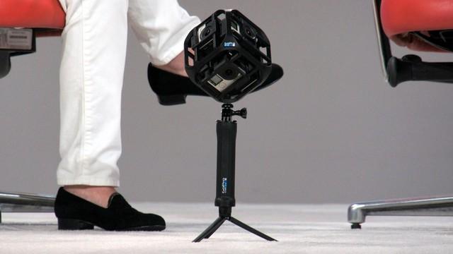 Hệ thống quay video thực tế ảo mới của GoPro